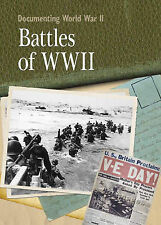 Documenting WWII: Battles Of World War II Tonge, Neil New Book