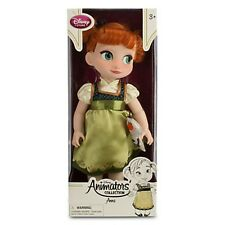 "16"" ANNA ANIMATOR DOLL Toddler Child w Plush Olaf Snowman Disney Frozen Princess"