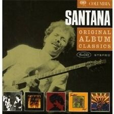 "SANTANA ""ORIGINAL ALBUM CLASSICS"" NEU 5 CD"
