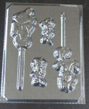 Mickey & Minnie Mouse Lollipop Candy Mold #199 - NEW