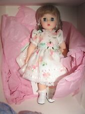 "Madame Alexander 15"" White Floral Party Kelly Doll"