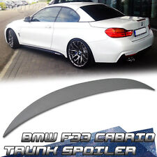 2015 Paint For BMW 4-Series F33 Cabrio Performance Boot Trunk Spoiler 428i 435i