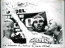 EDDY MERCKX Cyclisme Urgel 1970s ciclismo Molteni Team equipe press photo