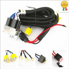 OEM H4 Headlight Relay Wiring Harness System 2 Headlamp Light Bulb Fix Dim Light
