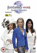 FOOTBALLER'S WIVES Complete Series 5 DVD FOOTBALLERS Season 5th Five Fifth New