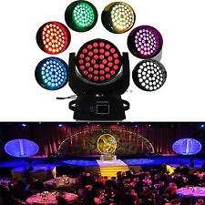LED EFFETTO LUCE CAMBIACOLORE TESTA MOBILE STROBE 36 x 10W DMX DJ PARTY