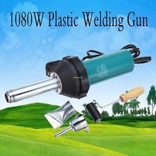 1080W Soudeur plastique pistolet à air chaud Plastic welder + PE/PVC plastic rod