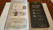 New Samsung Galaxy NOTE 5 SMN920G Mint 32GB Black Unlocked gsm AT&T TMOBILE