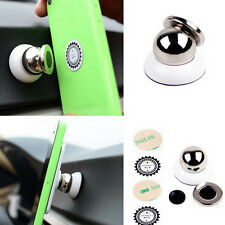 360 Magnetic Car Dash Stand Magic Holder Mount For Universal Mobile Phone White