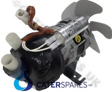 23377 BREMA WATER PUMP MOTOR FOR ICE MACHINE C/W COOLING FAN 230V SPARES & PARTS