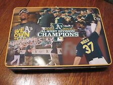 Oakland Athletics A's 2012-13 AL West Champs Thin Lunch Box