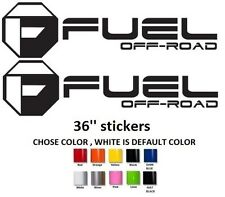 (#321) 36'' Fuel decals off road vinyl decal stickers,GMC, Chevy, Ford, Toyota