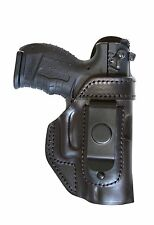 Smith & Wesson MP9 Leather IWB holster FALCO Holster Model 20N