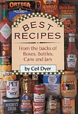 BEST RECIPES FROM THE BACKS OF BOXES, BOTTLES, CANS AND JARS Cookbook Ceil Dyer