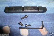 claw mount base for HENSOLDT WETZLAR DURAL - DIALYTAN X 4 rifle scope
