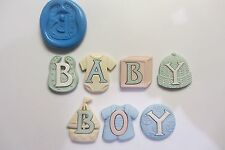 BABY BOY SILICONE MOULDS Sugarcraft , Fimo , Food , Cake Decorating Cupcakes