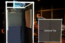 Vocal Booth Noise Reflection & Echo Eliminator - With Optional Top