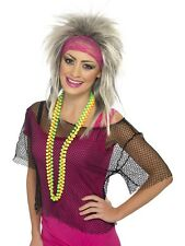 Fancy Dress Smiffy's 80's 1980 Eighties String Vest Top One Size