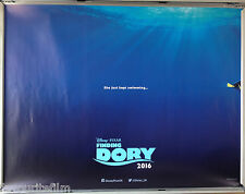 Cinema Poster: FINDING DORY 2016 (Advance Quad) Ellen DeGeneres Idris Elba