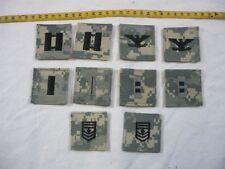 USA: Kragenabzeichen 10 Stück in ACU Digital Tarn Dienstgradabzeichen DGA