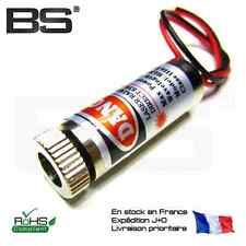 Tete laser industrielle rouge point focus réglable 3-5V 650nm 5mW driver integré