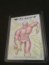 JUSTICE LEAGUE CRYPTOZOIC FLASH SKETCH BY NIALL WESTERFIELD