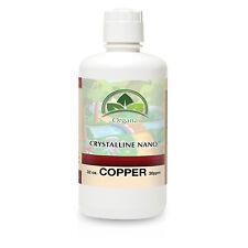 The BEST Nano Colloidal Copper Liquid Supplement - 32 Flow Oz One Quart