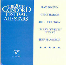 20th CONCORD Festival All Stars -- RAY BROWN - GENE HARRIS - etc. (CD) LIKE NEW