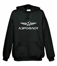 Sweat  Aéroflot, aviation russe, pilote, aéronautique, aviateur M, L,   NEUF NEW