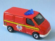 Matchbox Ford Transit Van London Fire Brigade Rescue Toy Model Car