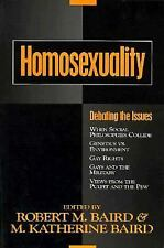 Homosexuality: Debating the Issues (Contemporary Issues)