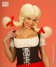 Rubia Trenzas Peluca con Bendable racimos Trapo Muñeca Dolly Fancy Dress
