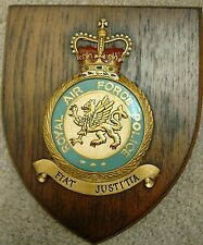 RAF Royal Air Force POLICE  Crest Shield Plaque Badge