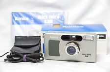 Konica Big Mini F 35mm Point & Shoot Film Camera w/35mm F/2.8 Lens *Boxed*