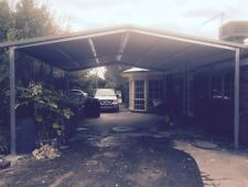 Double Carport, 6x6m Gable: Custom Designs Available