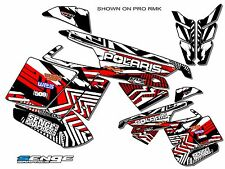 2005-2014 POLARIS IQ SHIFT DRAGON GRAPHICS DECO WRAP 2013 2012 2011 2010 2009