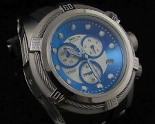 Invicta Reserve Bolt Men 21810 Swiss Made Zeus Ice Blue/silver Black Poly Watch