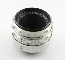 Objektiv M42 Carl Zeiss Tessar 2.8/50 Alu - 50mm f/2.8 - Nr. 5294874 (Mo)