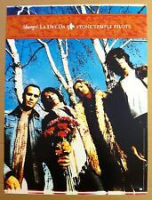Scott Weiland STONE TEMPLE PILOTS 2001 PROMO POSTER of Shangri CD Never Display