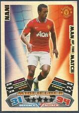 TOPPS MATCH ATTAX 2011-12- #390-MOTM-MANCHESTER UNITED & PORTUGAL-NANI