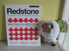 NEW Soft Toy Baby Sheep Minecraft Redstone Magazine Complete Guide Vol1 Ex.Cond