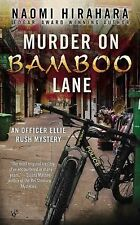 Murder on Bamboo Lane (An Officer Ellie Rush Mystery)-ExLibrary
