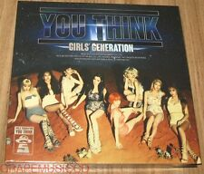 GIRLS' GENERATION SNSD You Think 5TH ALBUM CD + PHOTOCARD & FOLDED POSTER SEALED