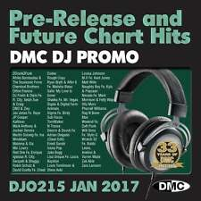 DMC DJ Only 215 Promo Chart Music Disc for DJ's - Double CD