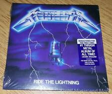 "METALLICA  ""Ride The Lightning""  First Time Remastered   NEW   (CD, 1986/2016)"