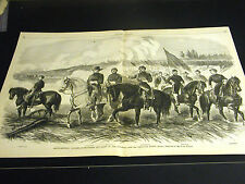 Hooker ARMY of POTOMAC Candler Lawrence Dickenson Moore Russell 1863 Large Print