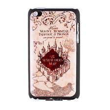 Harry Potter Hogwarts Marauder Map Hard Case Cover for Apple iPod Touch 4 4th G4