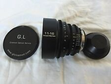 G.L. Optics 11-16mm F2.8 PL Mount Cine Lens RED, Canon, Sony, Black Magic