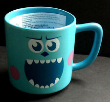 DISNEY STORE Mug CLOSE UP Collection SULLEY Monsters Inc Cup CERAMIC 12 oz NEW