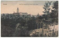 Kolo. Ak Oschatz Partie am Stadtpark mit Blick auf die Stadt um 1910 ! (A1301